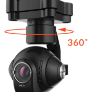 drone hexacoptère typhon camera
