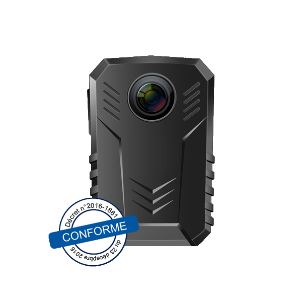 Caméra individuelle - conforme