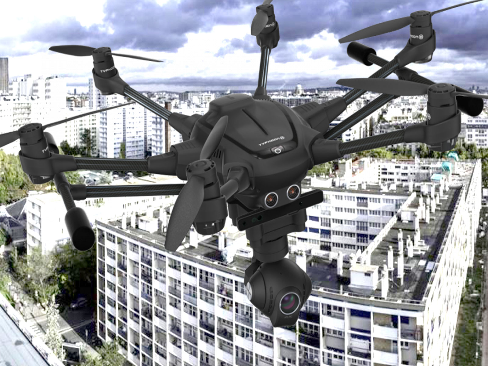 Drone hexacoptère Typhoon H PRO