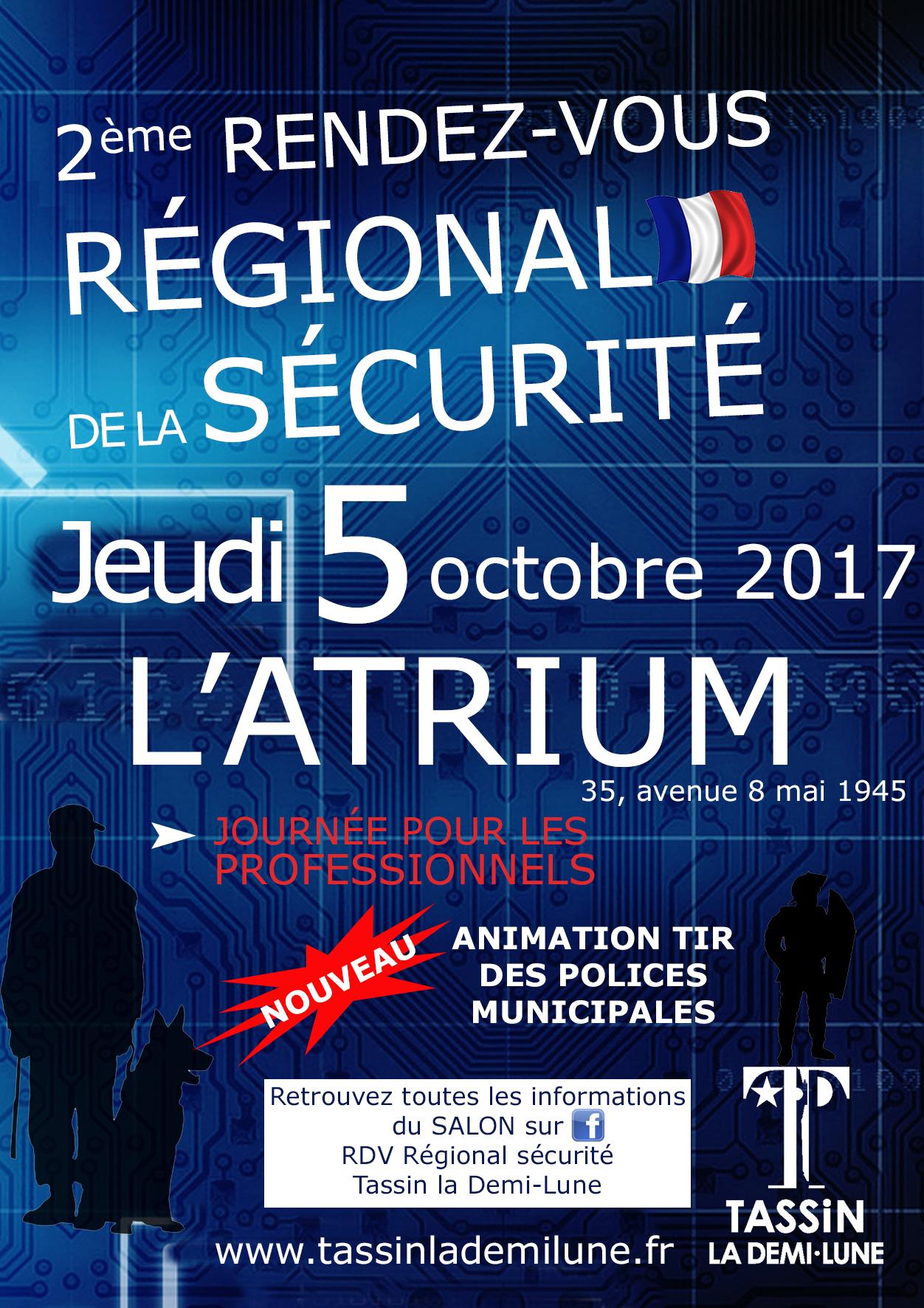 Salon TASSIN 2017 - Régionales de la sécurité