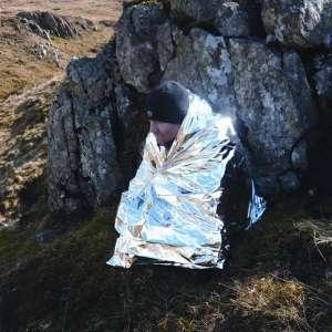 Couverture hypothermie survie