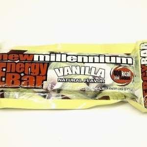 Barre énergisante Millennium saveur vanille