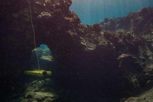 Gladius drone sous-marin pour l'exploration