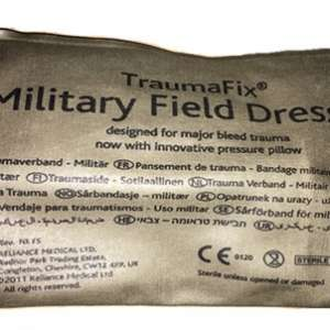 Petit bandage « Urgence » compressif stérile.