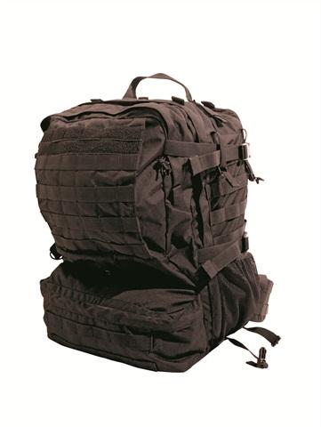 Sac à dos 42 litres « Payload » avec poche à eau, Noir.