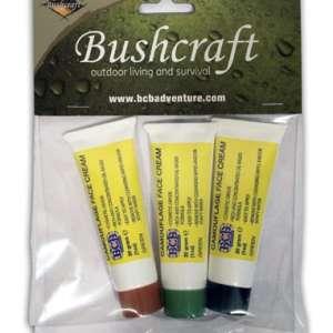 Kit 3 tubes de camouflage