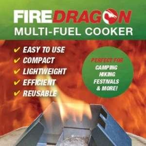 Réchaud pliant pour Fire Dragon. Pack de 40.