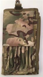 Porte carte de type « Militaire ».Porte carte de type « Militaire ».