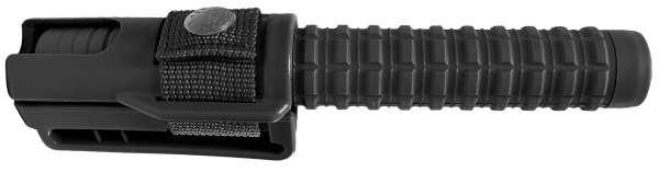 Matraque télescopique métal + porte ceinture.