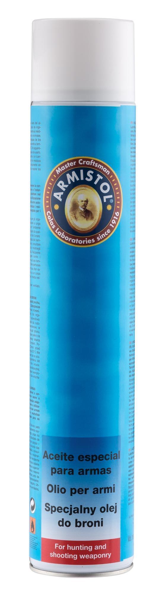 Aérosol huile pour armes - 750 ml.