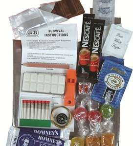 Ration/Kit de survie « Pack Emergency ».