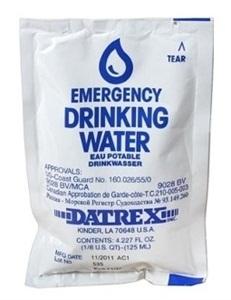 Poches d'eau.