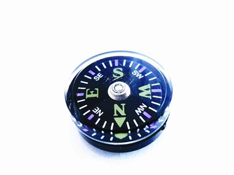 Boussole bouton « Explorer ». En pack de 10.