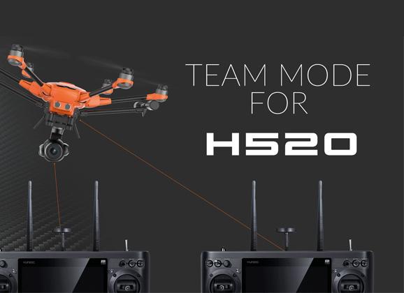 yuneec H520 Team mode ST16s