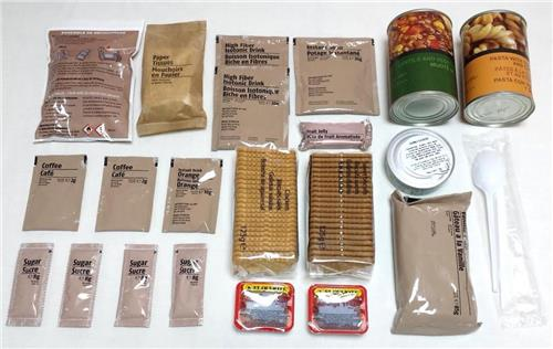Ration militaire 3000 Kcal - Menu E