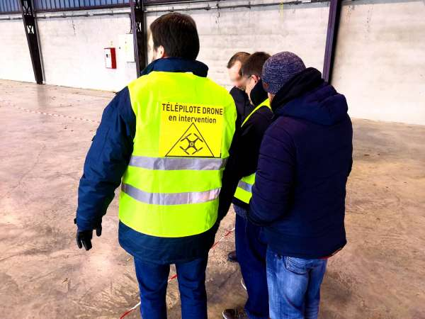 formation telepilote drone