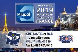 milipol 2019 isde-tactic BCB