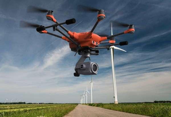 Drone H520 avec caméra avec Zoom x30 - E30Z