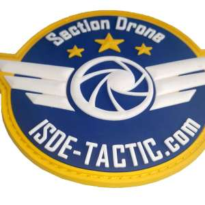écusson ISDE-TACTIC Section Drone